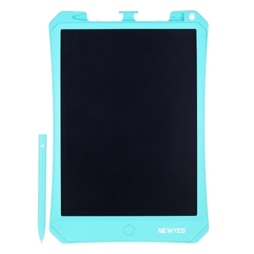 NEWYES 10.5 Inch LCD Writing Tablet Electronic Drawing Board Reusable Digital Handwriting Pad Pressure-Sensitive Technology Single Color Screen