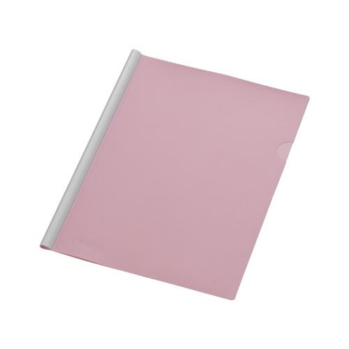 Clear Slide Binder File Clip Folder Document Holder with Sliding Bar