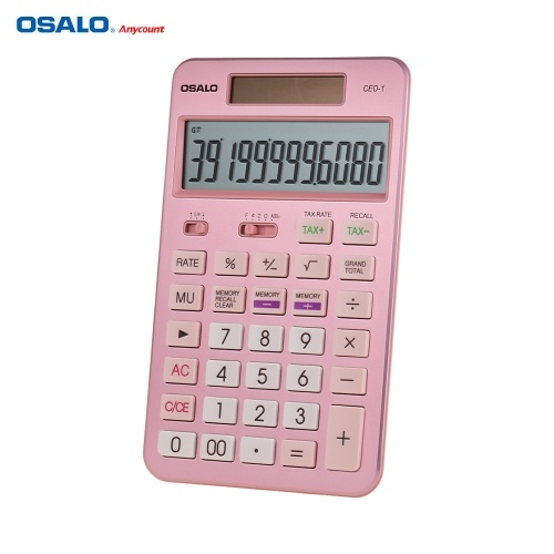 OSALO Desktop Calculator Tax Function Counter