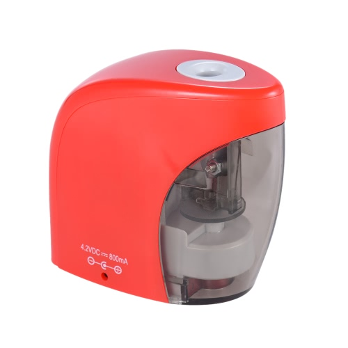 Automatic Electric Pencil Sharpener USB or Battery Operated with USB Cable for Home Classroom Office Kids Students Stationery Gift