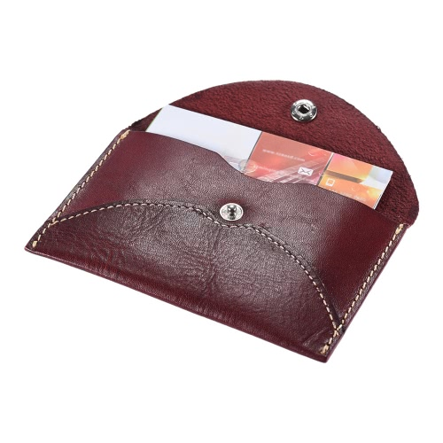 Classic Business Name Credit Card Holder Bag Change Purse Gift