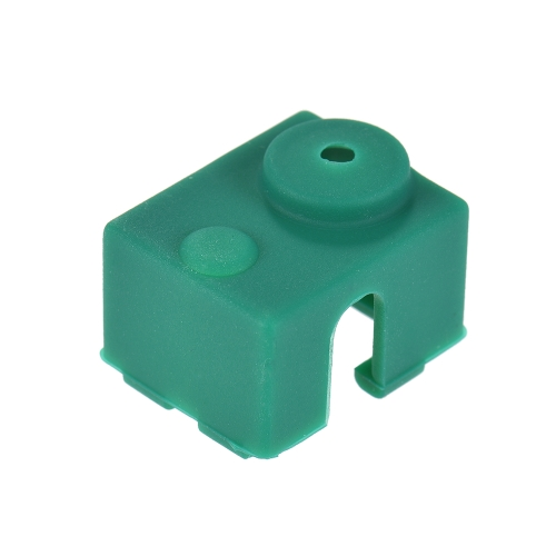 1pc 3D Printer Parts E3D V6 Hotend Block Silicone Sock Heating Block Cover 22 * 18 * 13mm