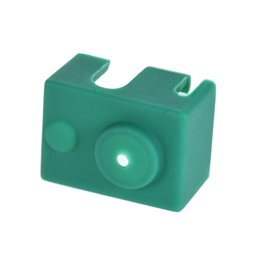 1pc E3D V6 PT100 Hotend Block Silicone Cover Sock 25 * 18 * 15mm 3D Printer Parts