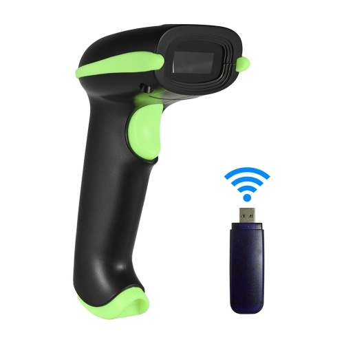 Aibecy 2-in-1 433M Wireless Barcode Scanner & USB
