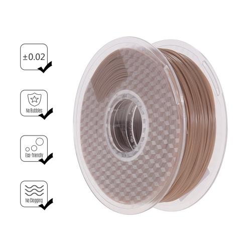Filamento do PLA da mudança da cor da temperatura de 1.75mm