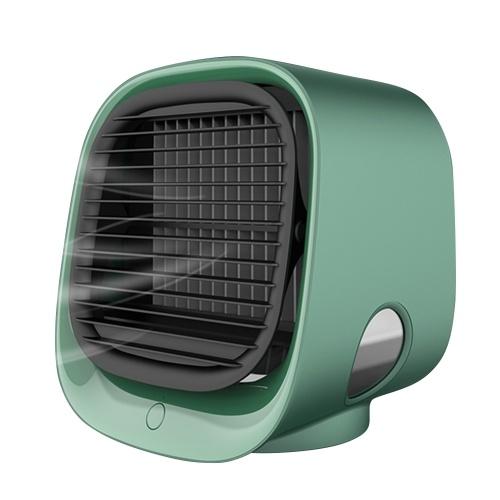 Mini tragbare Klimaanlage Multifunktions-Luftbefeuchter Purifier USB Desktop Fan Luftkühler