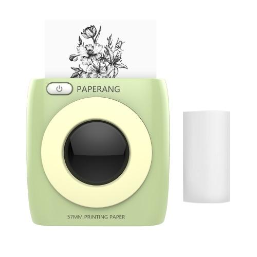 Stampante tascabile PAPERANG Stampante wireless BT Stampante termica portatile 300 dpi per foto Immagine ricevuta Memo Nota Etichetta adesiva