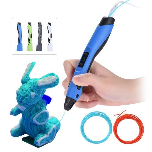SUNLU SL-300 Интеллектуальная трехмерная печать Pen Низкотемпературная керамическая насадка с держателем для ручки для DIY Модель Doodle Kids Kid Christmas Gift