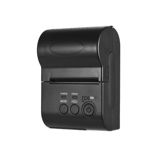Portable Personal Mini 58mm Wireless BT Thermal Receipt Printer