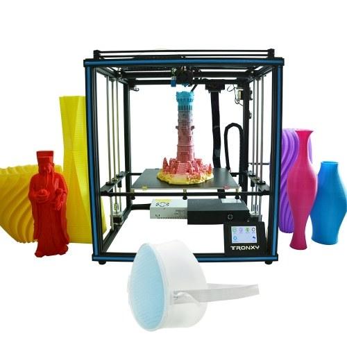 Tronxy новый модернизированный комплект 3D-принтеров высокой точности