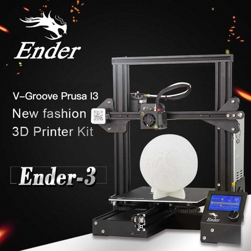 Creality 3D ender-3X Upgraded High-precision DIY 3D Printer Self-assemble 220 * 220 * 250mm Printing Size with Glass Plate фото