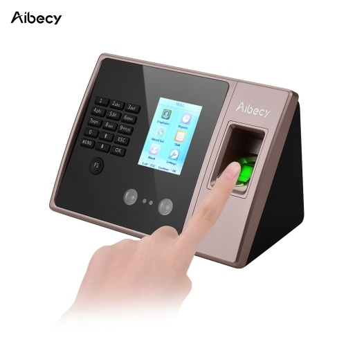 Máquina biométrica inteligente do comparecimento do tempo da impressão digital de Aibecy