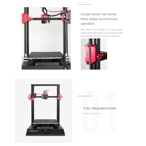 CREALITY CR-10S Pro V2 Upgraded High Precision 3D Printer