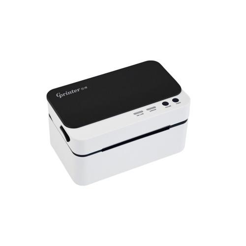 Gprinter Портативный принтер для доставки этикеток Высокоскоростной USB-порт Прямой термопринтер Наклейка для изготовления этикеток Совместимость с Windows Поддержка 30-85 мм Ширина бумаги для штрих-кода Экспресс-печать этикеток Рассылка