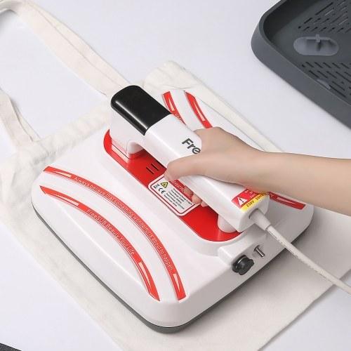 Protable Heat Press Machine T-Shirt Printing Easy Heating Transfer Press Iron Machines 7x8''