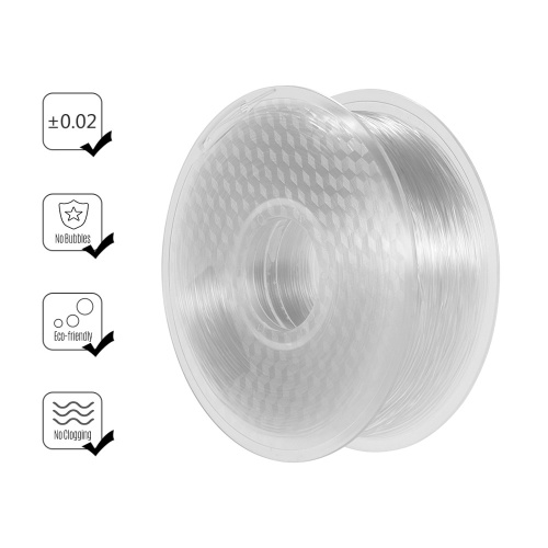 1.75mm PETG Filament Light Penetration 3D Printer Filament