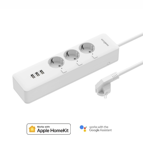 Koogeek Wi-Fi Smart Outlet Surge Protector Individually Controlled 3-outlet Power Strip