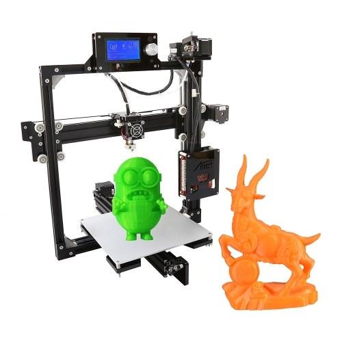 Kits de impressora Anet A2 de alta precisão para área de trabalho 3D