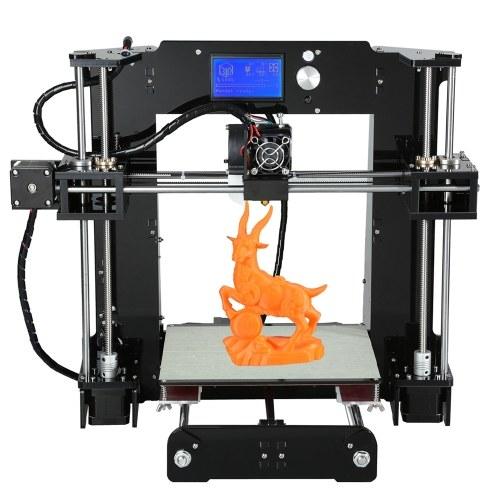 Kits d'imprimante 3D de bureau grande taille Anet A6 de haute précision