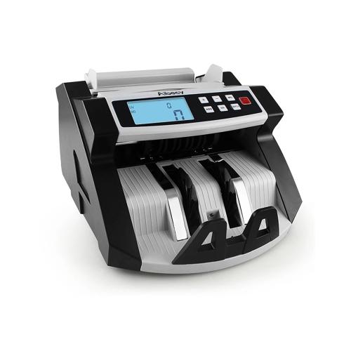 Automática Multi-Moeda Dinheiro Banknote Dinheiro Bill Contador Contando visor da máquina LCD com UV MG Counterfeit Detector para o EURO Dólar Americano AUD Libra