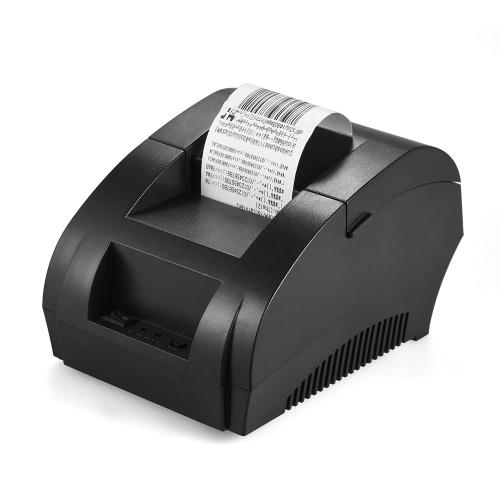POS-5890K drukarki pokwitowań 58mm USB Printing Bill biletów POS Gotówka Szuflada Restauracja detaliczny