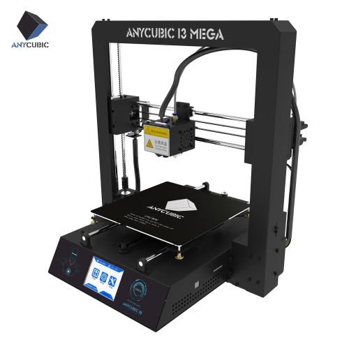 Anycubic MEGA i3 3D Printer Metal Frame Support Auto Leveling  Filament Detect Intelligent Resume with 3.5