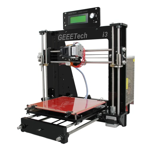 Geeetech Acrylic Prusa I3 Pro B Unassembled 3D Printer with 0.3mm Nozzle DIY Kit