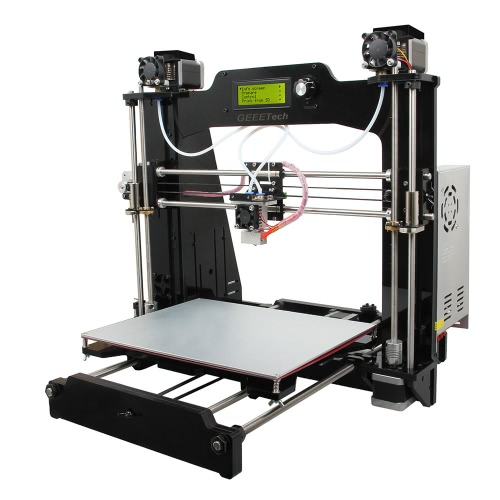 Geeetech Prusa I3 M201 2-IN-1-OUT Dual Extruder Mixcolor 3D Impressora DIY Kit 0,4mm Bocal