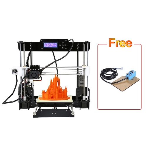 Upgraded Anet A8 DIY i3 High Precision 3D Printer Kits With 10 Meters Filament And 8GB Memory Card