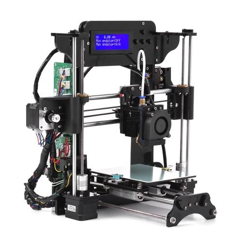 TRONXY XY-100 Portable Desktop 3D Kit de impressora DIY Auto-montagem High Precision Prusa i3 Tamanho de impressão 120 * 140 * 130mm MK10 Extrusor Acrílico Frame 2004A Tela LCD com suporte de cartão de memória de 8GB ABS / PLA / TPU / Filamento de madeira para iniciantes