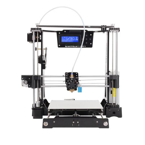 ZONESTAR P802C RepRap Prusa i3 3D Printer DIY Kit Acrylic Frame Auto ...