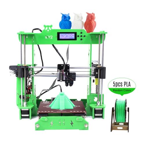 TNICE MY2 Desktop RepRap i3 3D Printer DIY Kit ST Mainboard Integrated Extruder 2004 LCD Display Acr