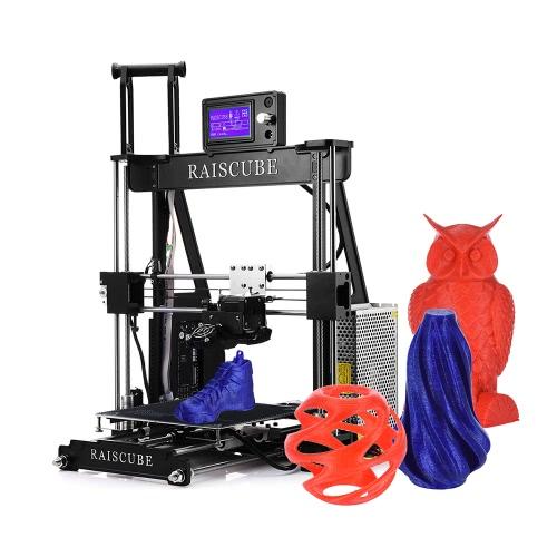 Tamanho da cópia do quadro 210 * 210 * 225mm da liga de alumínio da impressora de RAISCUBE A8R 3D