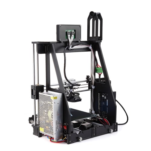 Self-assembly 3D Printer Aluminum Alloy Frame 210 * 210 * 225mm Print Size Supports 1.75mm ABS- PLA-