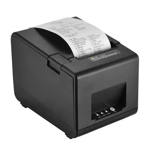 Gprinter GP-L80160I Thermal Receipt Printer Barcode Label Graphic Printer with Cutter 160mm-s 80mm P