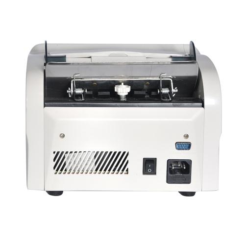 Aibecy Desktop Multi-Currency Автоматическая наличная денежная банкнота Счетчик счетчиков счетчиков счетчиков с ультрафиолетовым излучением Ультрафиолетовый детектор ультрафиолетового излучения Внешний дисплей для EURO / USD / GBP / AUD / JPY / KRW