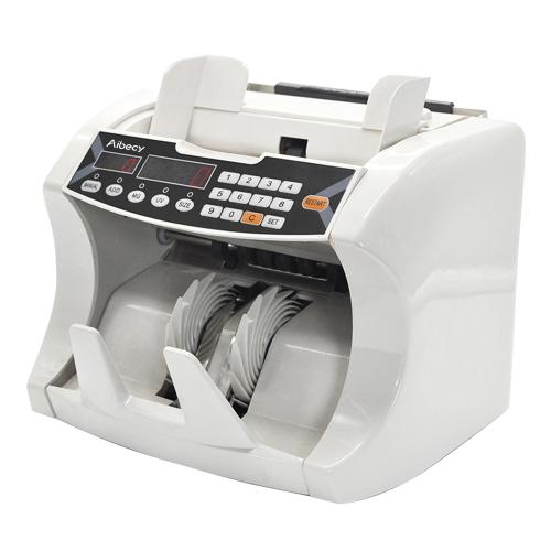 Aibecy Automatic Counting Machine con banconote da banconote in denaro contante in denaro monetario con UV Rivelatore falsificatore UV Display esterno per EURO / USD / GBP / AUD / JPY / KRW