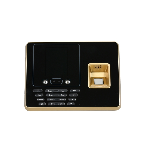 Máquina biométrica de atendimento a impressões digitais TCP / IP 2.8inch Color Screen Employee Checking-in Recorder