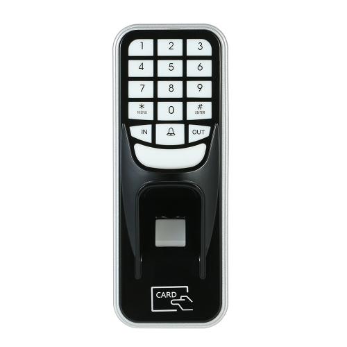Fingerprint Password ID Card Lock Controle de acesso Máquina off-line de atendimento