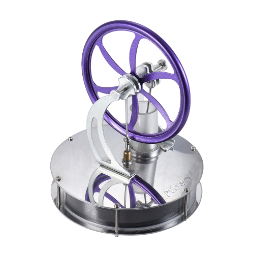 Aibecy Low Temperature Stirling Engine Motor Model Heat Steam Education Toy DIY Kit OS0657PU