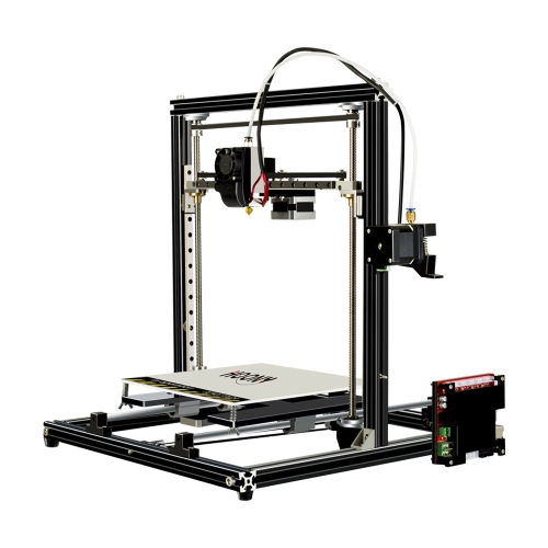 HOONY H6 High Precision Desktop 3D Printer Kits Reprap i3 DIY with 4GB Memory Card