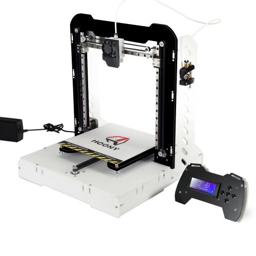 HOONY H8 210 * 210 * 240 mm Kit de DIY de impressora 3D com cartão de 4GB TF