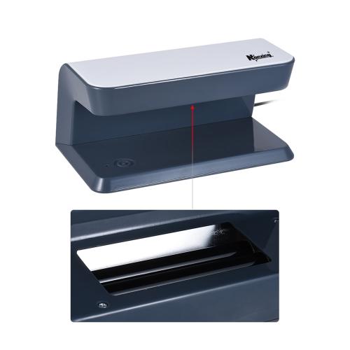 Nanxing NX-3086A 8W Ультрафиолетовый контрафактный детектор Ультрафиолетовый индикатор проверки машины для доллара США Евро Фунт Йен выиграл песо-бумагу Валютный паспорт ID / кредитная карточка Счет фото