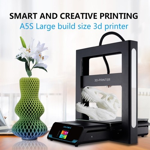 JGAURORA A5 DIY 3D Printer 305 * 305 * 320mm Print Size With Metal Frame
