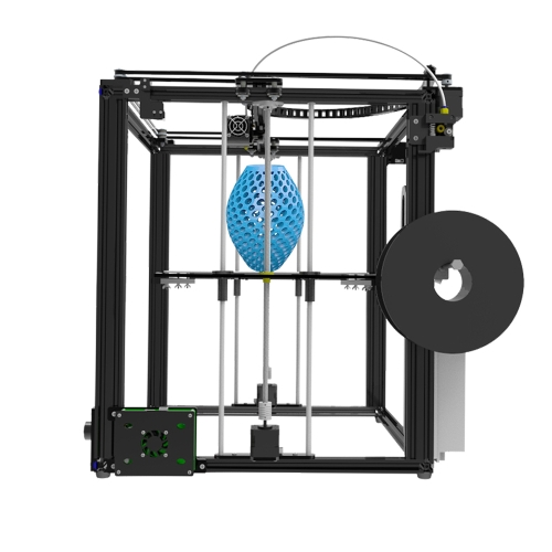 Tronxy X5S DIY 3D Impressora Kits Dupla Z Axis Grande Tamanho da Cópia 330 * 330 * 400mm com LCD12864 Tela de Metal Quadro de Alta Precisão