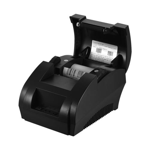 Impressora Térmica Bluetooth 58mm Recepção de Varejo de Varejo Impressão de POS para IOS Android Windows