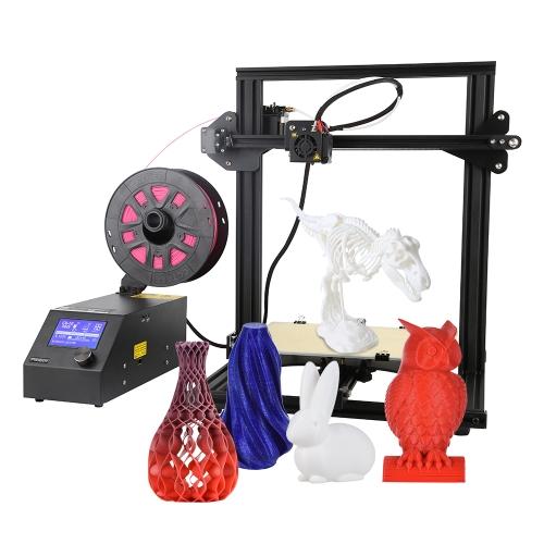 Aibecy CR-10Mini Hochpräzise DIY 3D Drucker Semi Montiert Druckgröße 300 * 220 * 300mm Aluminiumlegierung Rahmen Unterstützt Fortsetzung Drucken von Stromausfall