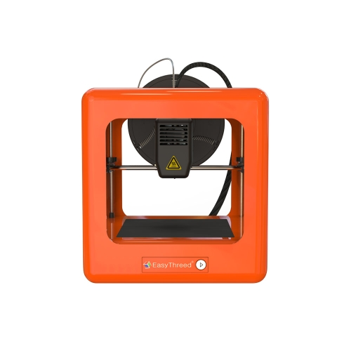 EasyThreed E3D Nano Entry Desktop 3D Printer per bambini Studenti No Assemblaggio Silenzioso Funzionamento Facile Funzionamento Alta precisione