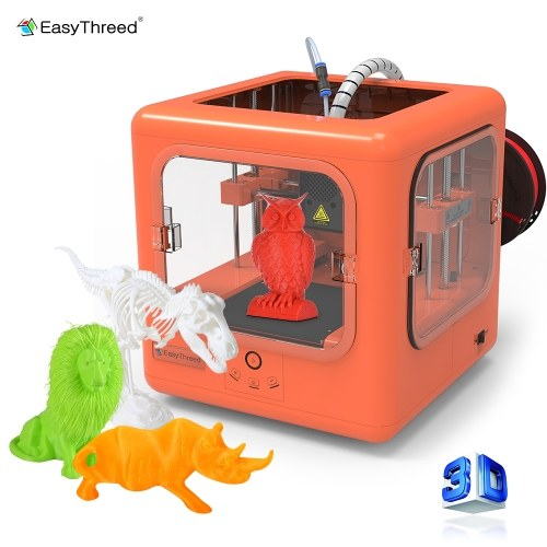 Easythreed E3D Dora 3D Printer No Assembling No Heated Bed With PLA Filament (250g)