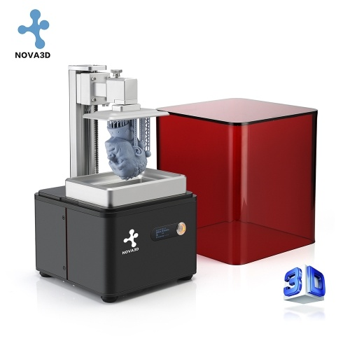 nova3d bene1 l1121 desktop lcd 3d printer ultra-high accuracy exquisite printing result